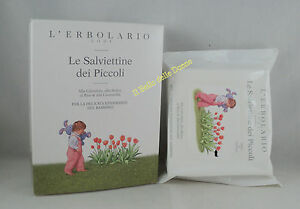 Erbolario The Wipes Dei Kids N° 20 Child Cleaning Fabric Non Woven