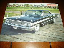1964 FORD GALAXIE 500 XL HOT ROD - ORIGINAL 1990 ARTICLE