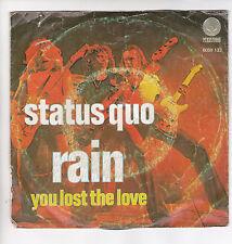 """STATUS QUO Vinyl 45 tours SP 7"""" RAIN VERTIGO 6059 133  F Reduit RARE"""