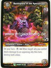 WoW - 2x Battleplate of the Apocalypse - Twilight of the Dragons