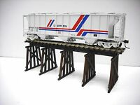 HO Scale Custom Laser Cut Trestle Bridge Kit
