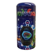 Disney Pj Masks Boys Digital Metal Money Coin Tin Gift Wrist Watch Brand New