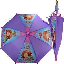 "Disney Junior Sofia the First Girls 21"" Purple Umbrella w/Sofia Handle"