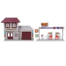 1:87 Tankstelle Architekturmodell Bausatz Straßenbild Diorama HO