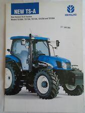 New Holland TS-A Tractors brochure Jun 2003 English text