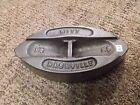 Vintage Antique WITT Sad Flat Iron #55 (RARE)