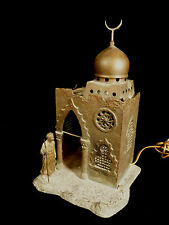 ORIENTALIST VIENNA BRONZE TABLE LAMP IN THE STYLE OF FRANZ BERGMAN - CIRCA 1900