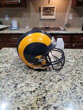 Los Angeles Rams full size helmet. Full size Riddell Helmet