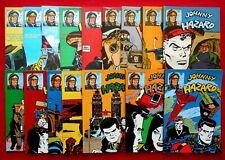 "JOHNNY HAZARD  COMIC ART COLLANA REPRINT   Q.COMPLETA   ""DA EDICOLA"""