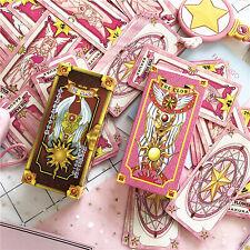 Cardcaptor Sakura 56 cards with box Captor Sakura Clow Cards Cosplay Collection