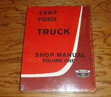 1965 Ford Truck Shop Service Manual Vol 1 2 3 Set 65
