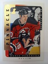 1996-97 Be A Player Pinnacle Denis Pederson New Jersey Devils - Auto