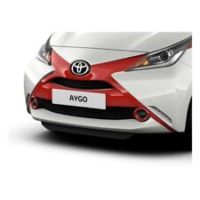Genuine Toyota Aygo 2014 Onwards Front 'X' Red Pop - 52112-0H070-D0
