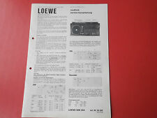 Loewe SDK 904 org. Service Anleitung Manual