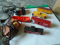 HO Scale Union Pacific Caboose, CN Caboose,Lot of 5 + 2 Transformers