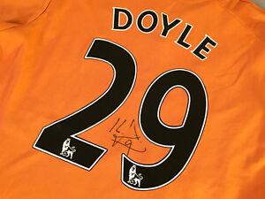 Wolverhampton KEVIN DOYLE Signed Soccer Jersey Colorado Rapids MLS Ireland
