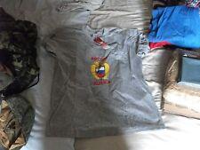 Ricamato BANDIERA RUSSIA ROSSIJA Eagle T-shirt grigio medie dimensioni