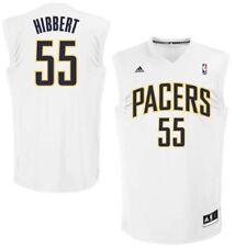 New NBA Roy Hibbert Indiana Pacers adidas Replica  Jersey - Wht 💯% GENUINE