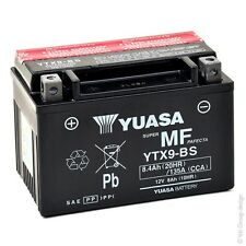 YTX9-BS BATTERIA YUASA SIGILLATA 12V 8,4AH MalagutiCentro ie 125 2007-2011