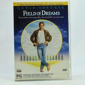 Field Of Dreams DVD Kevin Costner Baseball Movie Drama GC Free Tracked Post