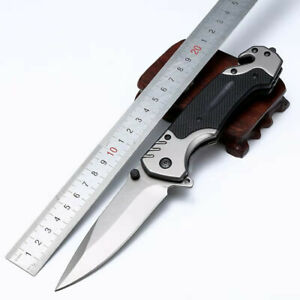 Quick Opening Switchblade Survival Knife Camping Knife Army Knife Fruit Knife