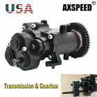 All Metal Transmission Center Gearbox For Traxxas TRX-4 TRX4 1/10 RC Crawler US