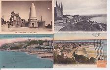 Lot 4 cartes postales anciennes LE HAVRE SAINTE-ADRESSE 2