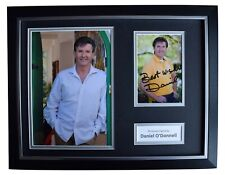 More details for daniel o'donnell signed autograph 16x12 framed photo display irish music & coa