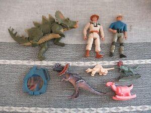 Jurassic Park World figure toy playset dinosaur Kenner Alan Grant Eddie Carr