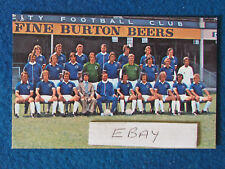 "CALCIO cartolina 5.5""x3.5"" - LEICESTER CITY - 1975/76?"