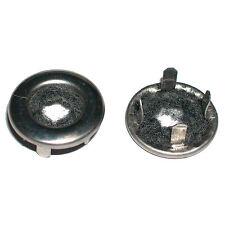 DOOR LOCK FEREARULES; PAIR; 68- 72 ALL GM CARS CORRECT NARROW TRIM RING