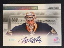 2011-12 SP AUTHENTIC MARKS OF DISTINCTION AUTO RYAN MILLER #ed 23/25 AUTOGRAPH