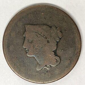 1840 Braided Hair Large Cent