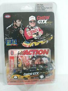 1998 Action 1:64 Die Cast Mustang Funny Car Elvis Castrol GTX John Force