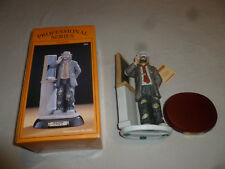 Boxed Emmett Kelly Signature Collection Flambro Teacher Figurine 9584 Figure >>