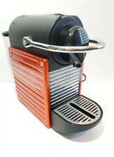 Nespresso Espresso Coffee Machine Type C60 Burnt Orange Made In Switzerland