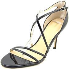Sandalias y chanclas de mujer de tacón alto (más que 7,5 cm) de color principal negro de charol