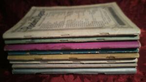 Readers Digest Reading Copy Lot 1939