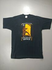 VTG T-shirt Firefighters Step Into My Office Canadian Association Size Large