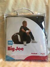 "Big Joe Bean Bag Chair Football by Megahh. Brown. 25""W X 24""L X 20"" D. 100% poly"