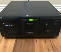 Sony Compact Disc Player CDP-CX355 Mega Storage 300 CD Good Used Condition