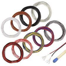 (0,25€/m) 10m Zwillingslitze 2x 0,04 mm² / extra dünnes Kabel Litze twin cable