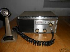 Johnson Messenger 223 tube type Cb radio with original manual