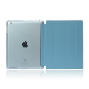 """For Apple iPad 9.7"""" 2017 2018 Smart Case Cover Stand Magnetic Ultra Slim Leather"""