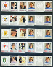 1982 21st Birthday of Princess of Wales mint n.h. gutter pairs (2020/04/19#04)