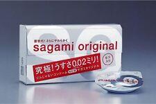 SALE Free Shipping NEW Sagami Original 002 6pcs Ultra Thin Condom 0.02mm JAPAN