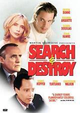 SEARCH AND DESTROY -ORIGINAL 2000 DVD -HOPPER, WALKEN, & ETHAN HAWKE -SHIPS FAST