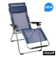Lafuma Futura Folding Garden Sun Lounger Recliner And Clip Maid
