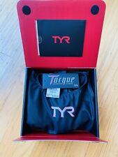 TYR Torque Pro Shortjohn Swimskin Speedsuit - Small - Black Excellent Condition!