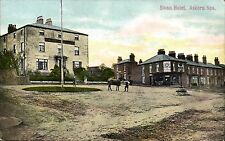 Askern. Swan Hotel by H.Todd, Post Office, Askern Spa.